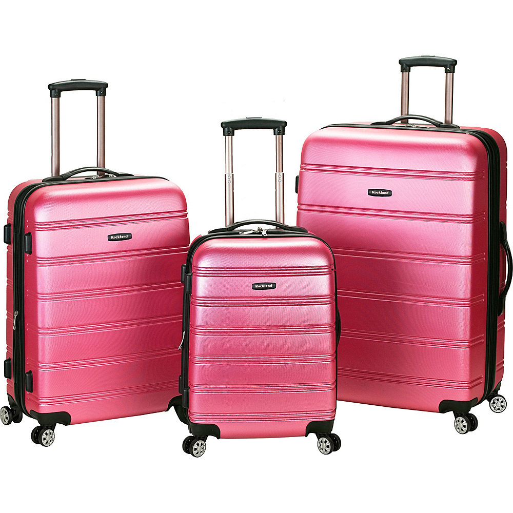 Rockland Luggage 3 Piece Carnival Hardside Spinner Set - Luggage, Luggage Sets