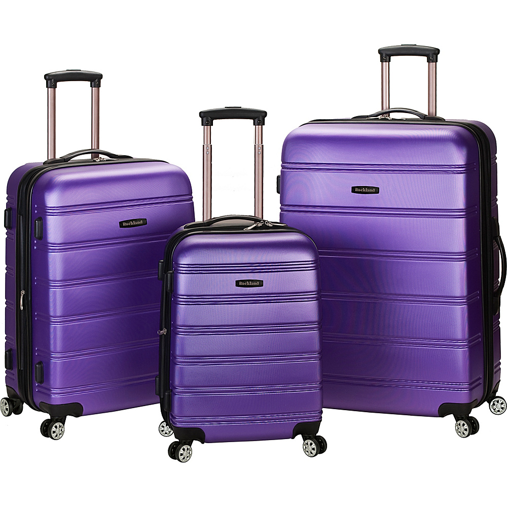 luggage deals: Rockland Luggage Celebrity 3 Piece Luggage Set