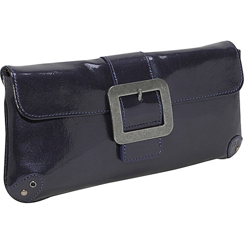 Boconi Addison Clutch - Purple Patent