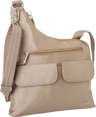 Travelon Small Leather Shoulder Bag With Strap 65