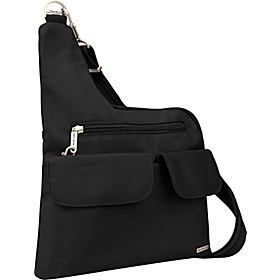 Anti-Theft Cross-Body Bag Black