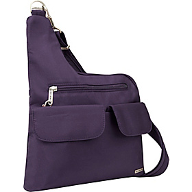Anti-Theft Cross-Body Bag Purple