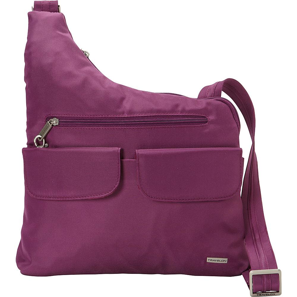 42.49 More Details · Travelon Anti-Theft Classic Crossbody Bag - Exclusive  Colors Orchid - Exclusive Color - Travelon 72077d09cc752