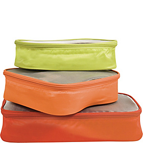Set of 3 Lightweight Packing Organizers Assorted