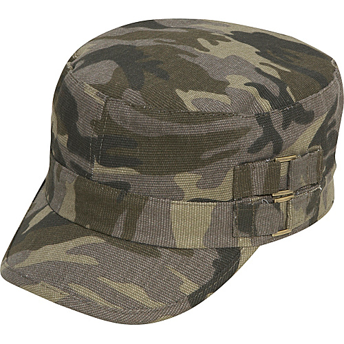 D&Y by David & Young Camouflage Cadet Hat - Camouflage