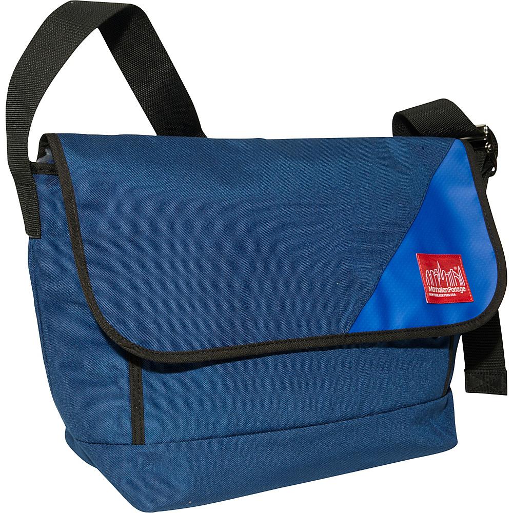 Manhattan Portage Sputnik 2.0 Messenger (LG) Navy/Ice Blue - Manhattan Portage Messenger Bags - Work Bags & Briefcases, Messenger Bags