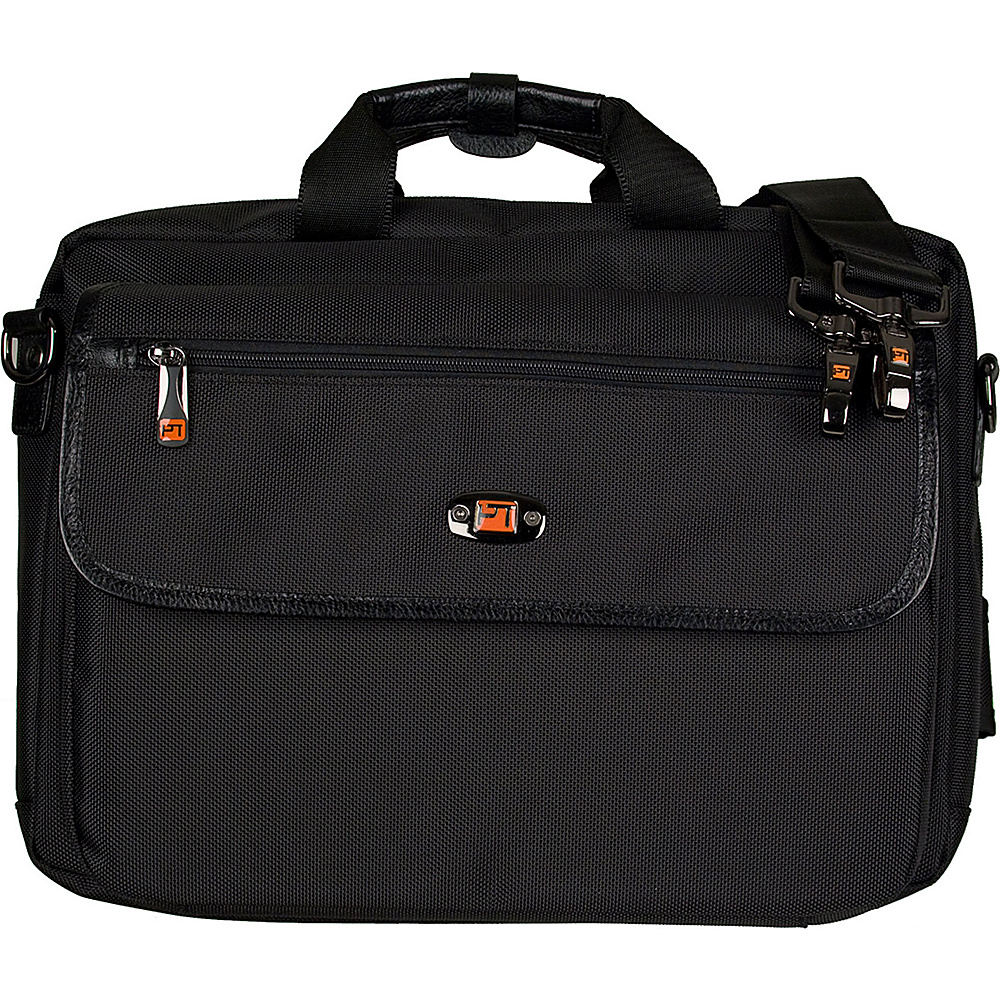 Protec Protec Lux Oboe Case with Sheet Music Messenger Bag Black - Protec Business Accessories