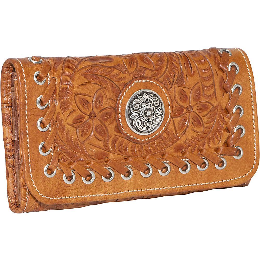 American West Harvest Moon - Tri-Fold Wallet - Antique - Women's SLG, Women's Wallets