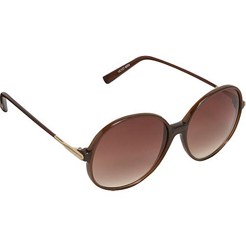 Vince Camuto Eyewear Oversized Round Frame Sunglasses