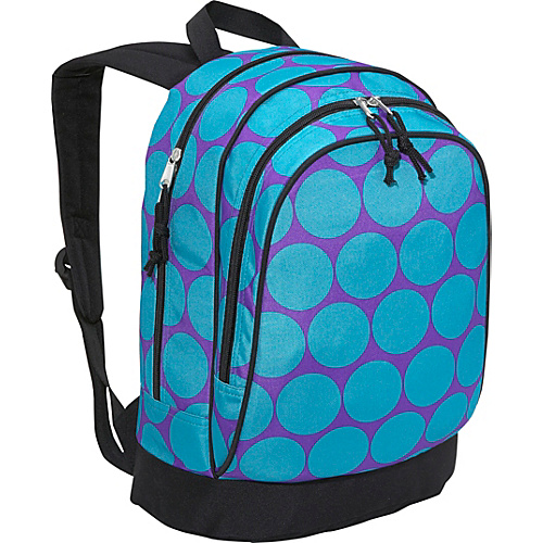 Wildkin Big Dots Aqua Sidekick Backpack - Big Dots Aqua