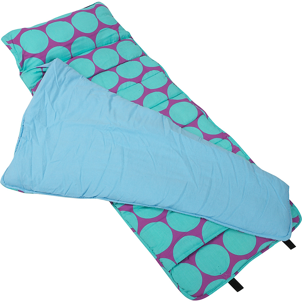 Wildkin Big Dots Aqua Nap Mat - Big Dots Aqua - Travel Accessories, Travel Pillows & Blankets
