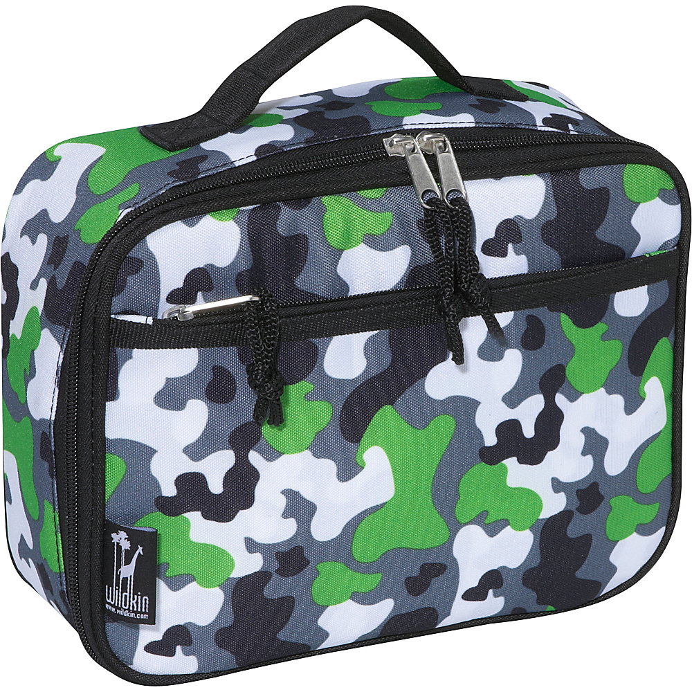 Wildkin Camo Lunch Box - Camouflage - Travel Accessories, Travel Coolers