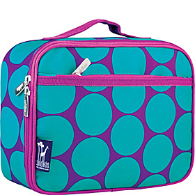 Big Dots Aqua Lunch Box Big Dots Aqua