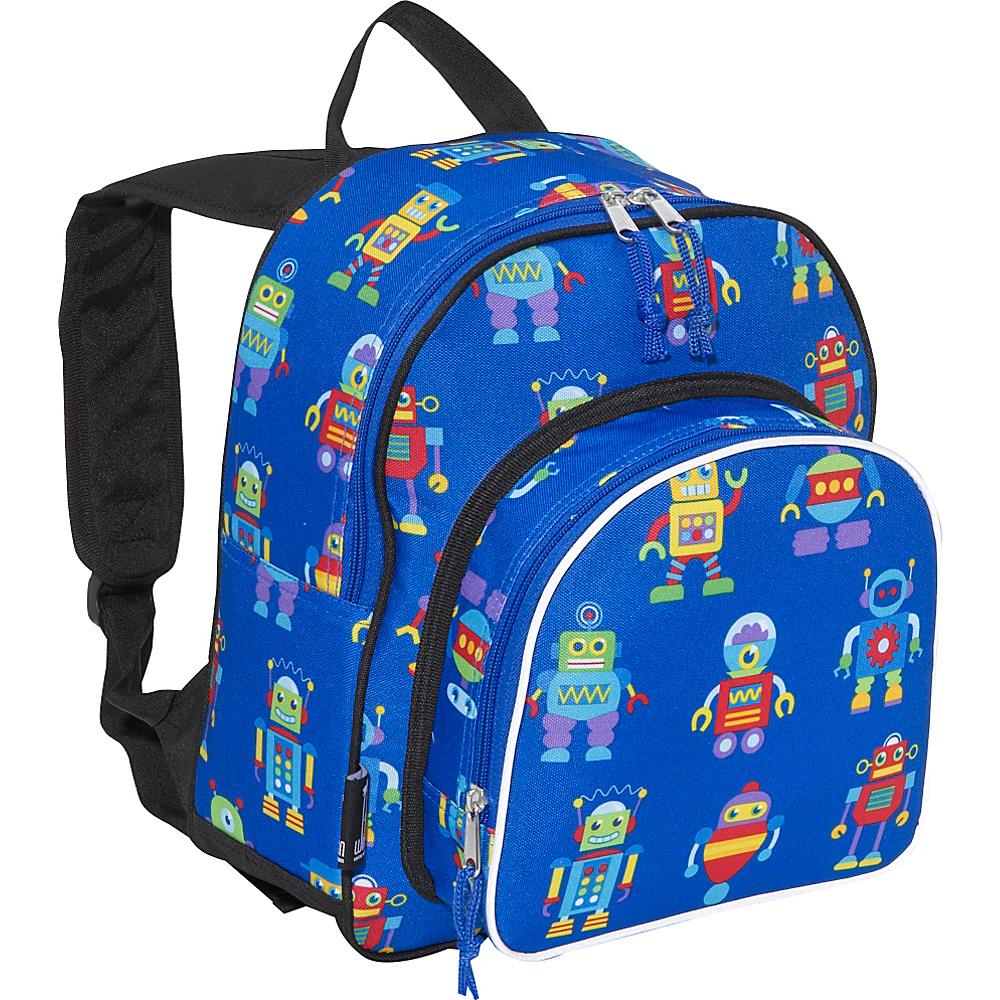 Wildkin Olive Kids Robots Pack n Snack Backpack - Backpacks, Everyday Backpacks
