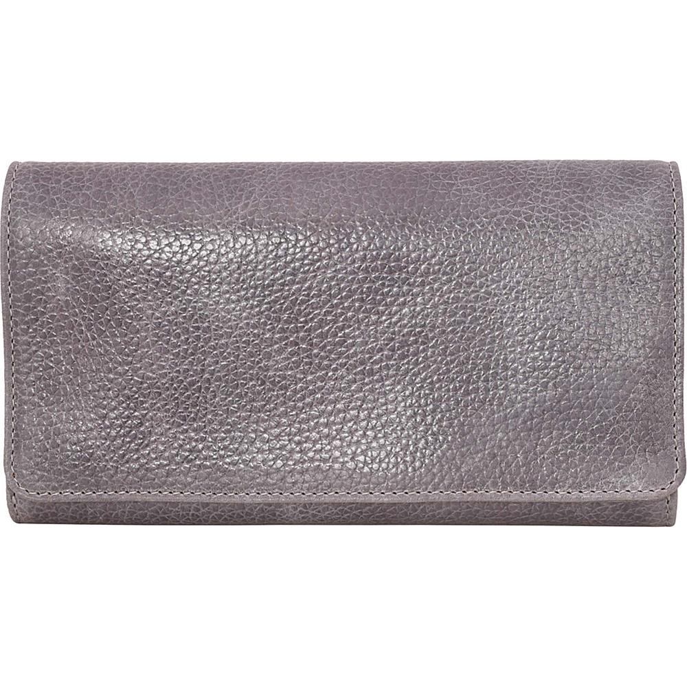 Latico Leathers Shelby Wallet Pebble Denim - Latico Leathers Womens Wallets - Women's SLG, Women's Wallets