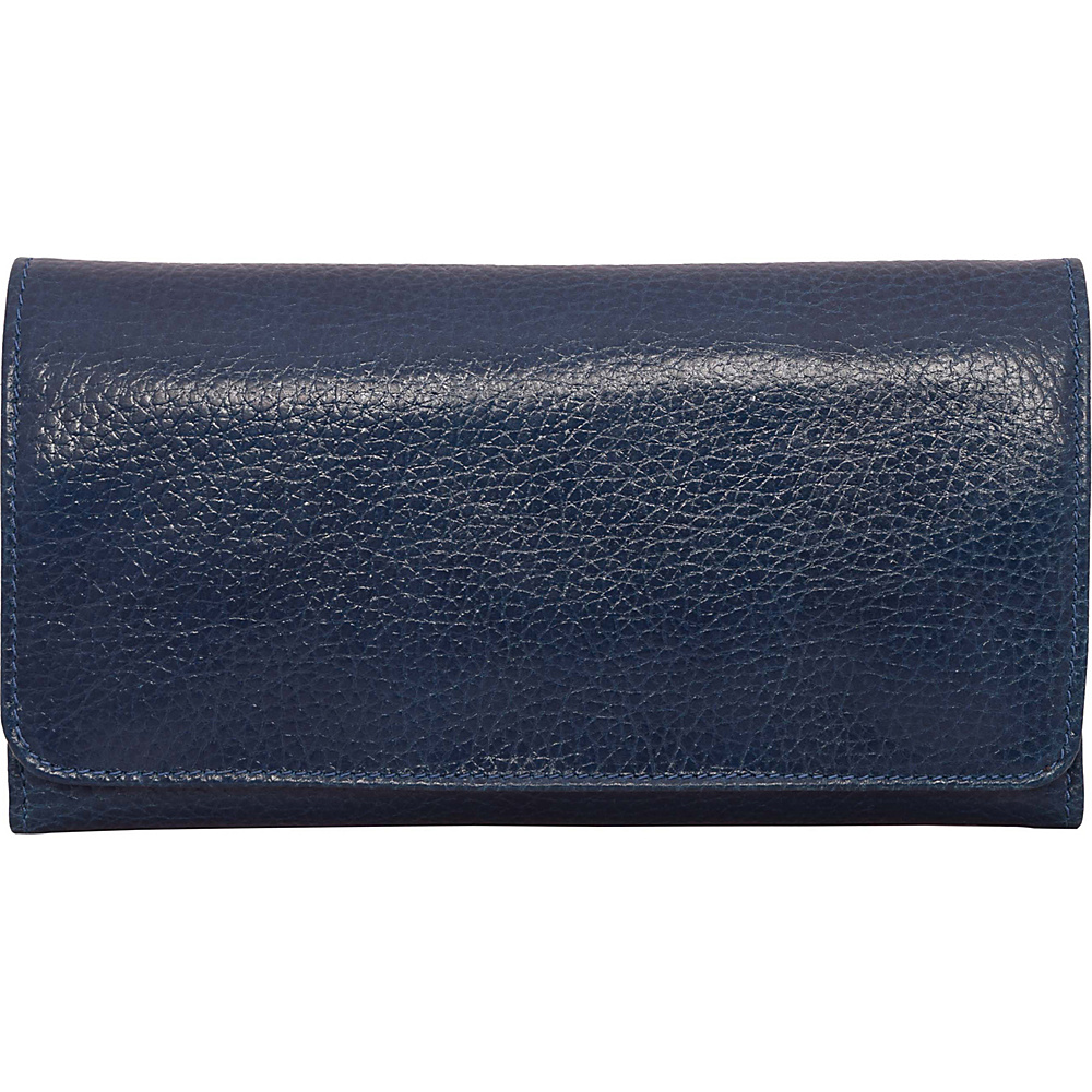 Latico Leathers Shelby Wallet Pebble Navy - Latico Leathers Womens Wallets - Women's SLG, Women's Wallets