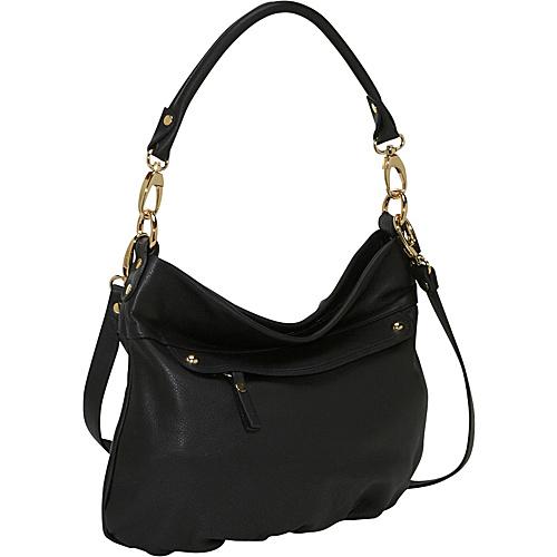 Pietro Alessandro Medium Flap Pocket Tote Black - Leather Handbags