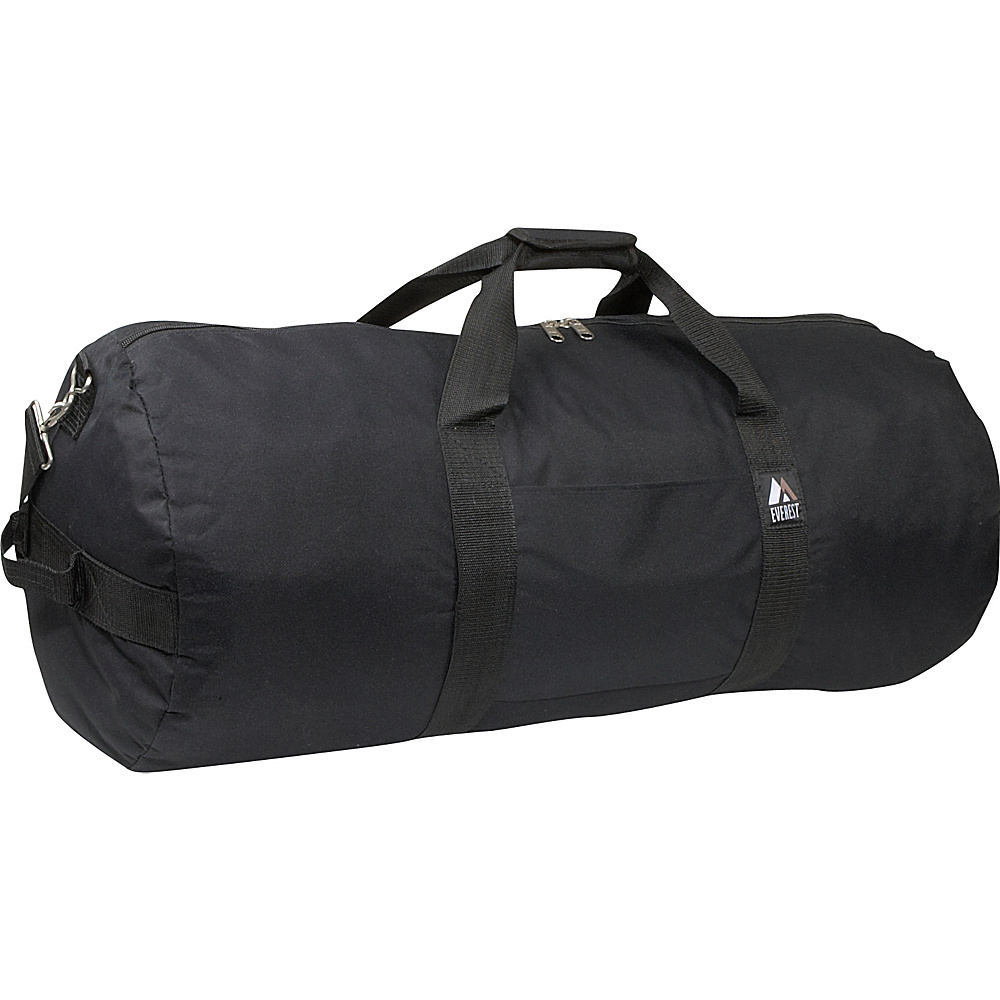 Everest 30 Round Duffel - Black - Duffels, Travel Duffels