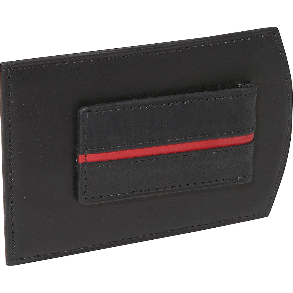 Rogue Wallets Rogue Redline Money Clip - Black with Red