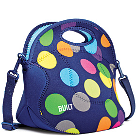 Spicy Relish Lunch Tote Scatter Dot