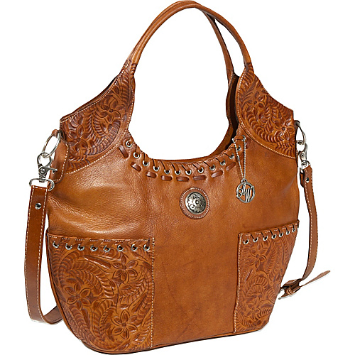 American West Harvest Moon - Tan and Antique Brown