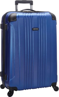 Kenneth Cole Reaction Out of Bounds Molded Upright Spinner Luggage - 28 inch Cobalt - Kenneth Cole Reaction Softside Checked