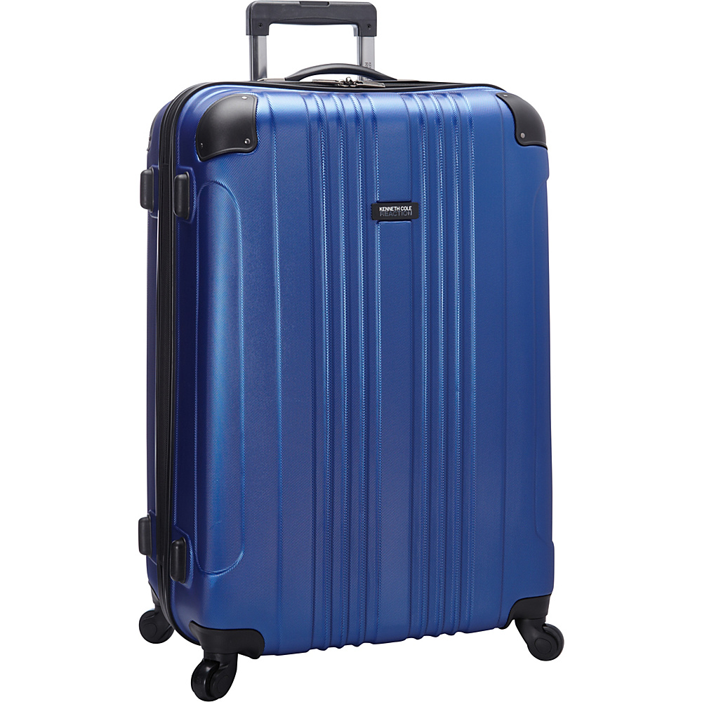 "Kenneth Cole Reaction Out of Bounds Molded Upright Spinner Luggage - 28"" Cobalt - Kenneth Cole Reaction Softside Checked"