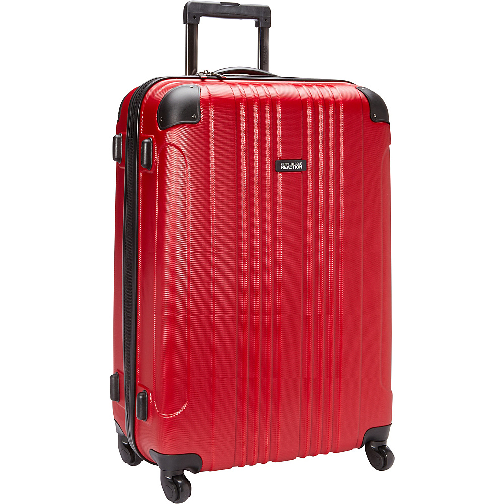 Kenneth Cole Reaction Out of Bounds 28 Molded Upright Spinner Red Kenneth Cole Reaction Hardside Checked