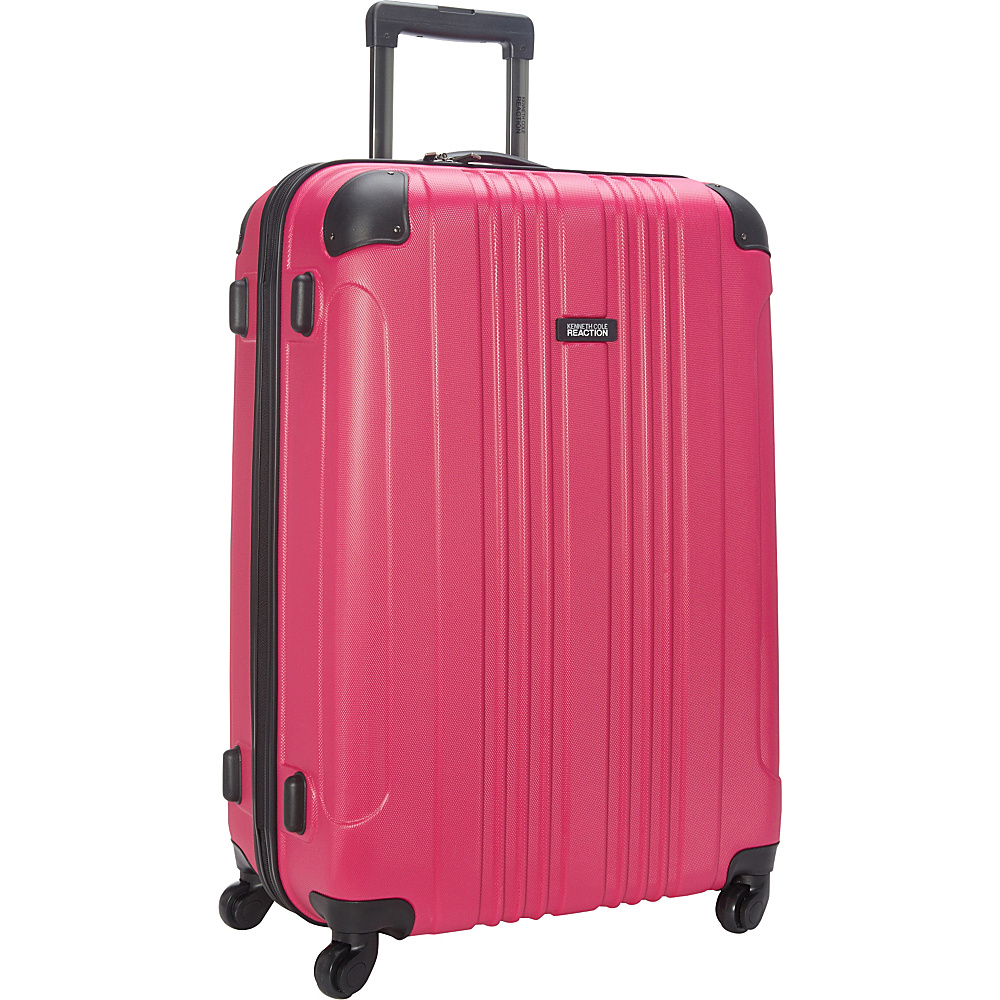 Kenneth Cole Reaction Out of Bounds 28 Molded Upright Spinner Pink Kenneth Cole Reaction Hardside Checked