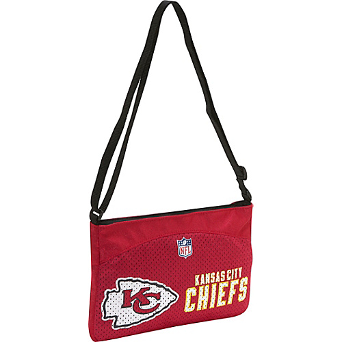 Littlearth NFL Jersey Mini Purse/Kansas City Chiefs Kansas City Cheifs - Littlearth Fabric Handbags