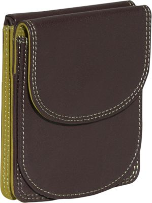 BelArno BelArno Bifold Multi Color Wallet in Black Rainbow