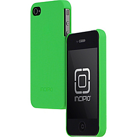 Feather for iPhone 4  Matte Neon Green
