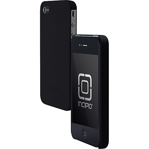 Incipio Feather for iPhone 4 - Black Absolute