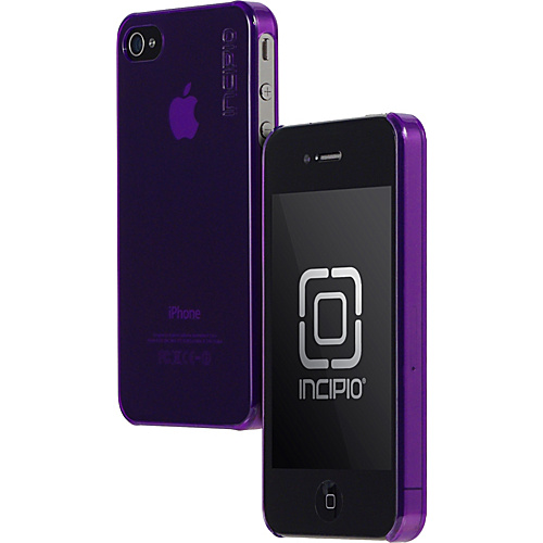 Incipio Feather for iPhone 4 - Translucent Purple