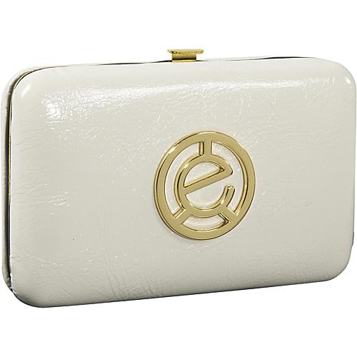Jill-E Patent Leather Clutch - Vanilla