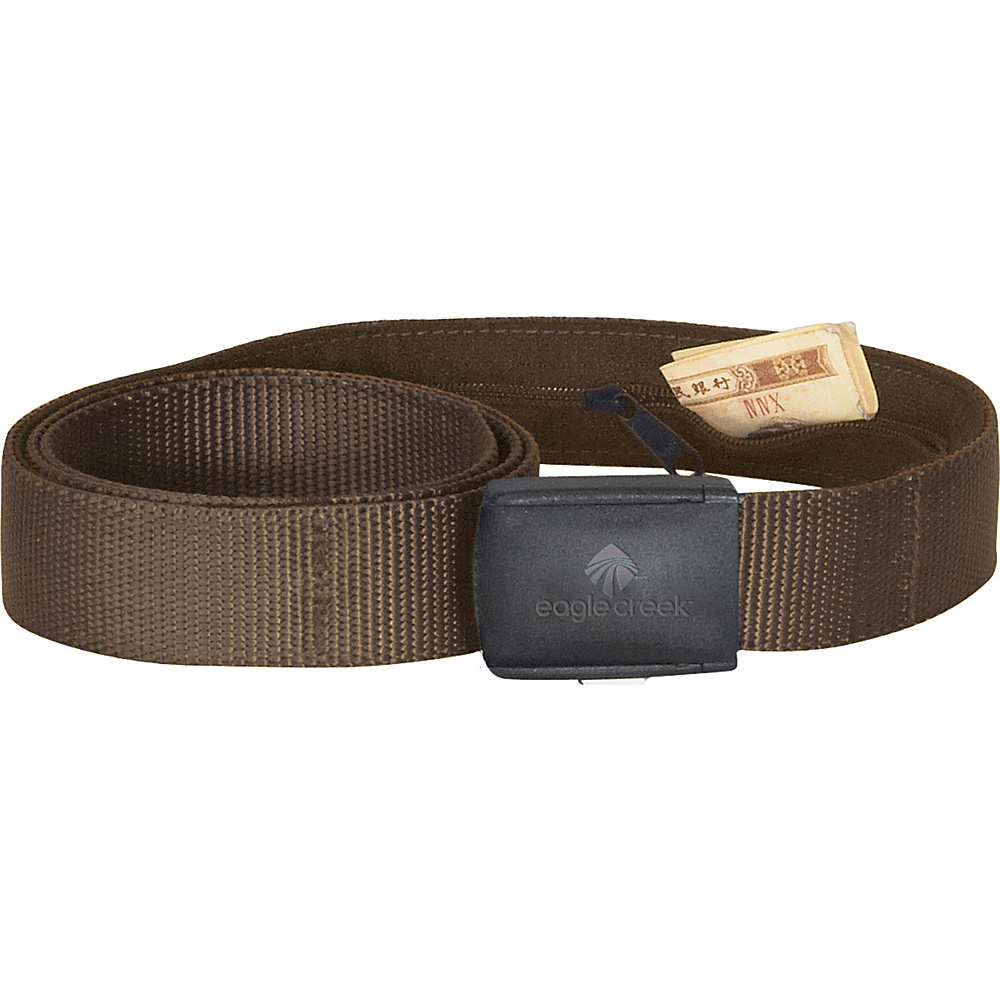 Eagle Creek All Terrain Money Belt Coffee - Eagle Creek Travel Wallets