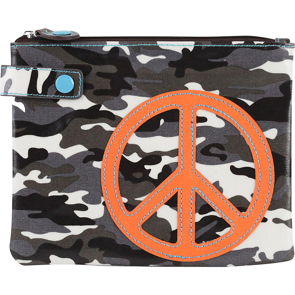 Urban Junket Eco Pouch Organizers Grey Camouflage Urban Junket Women s SLG Other
