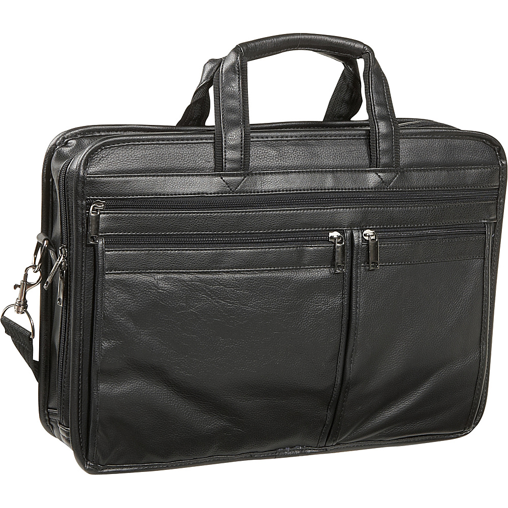 Bellino Soft Brief / Laptop Case Black - Bellino Non-Wheeled Business Cases