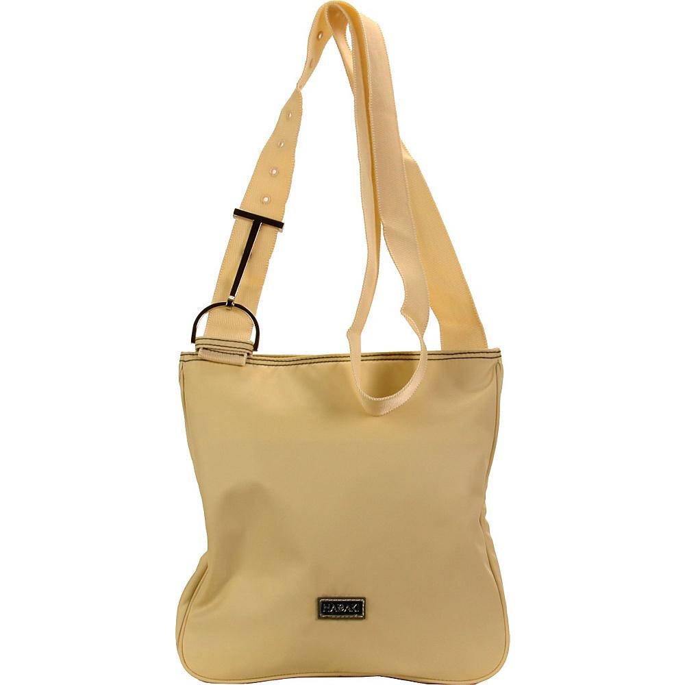 Hadaki Twill Nylon Scoop Sling Semolina - Hadaki Fabric Handbags - Handbags, Fabric Handbags