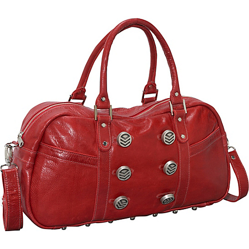 Brynn Capella Zee Satchel - Forever Yours Red