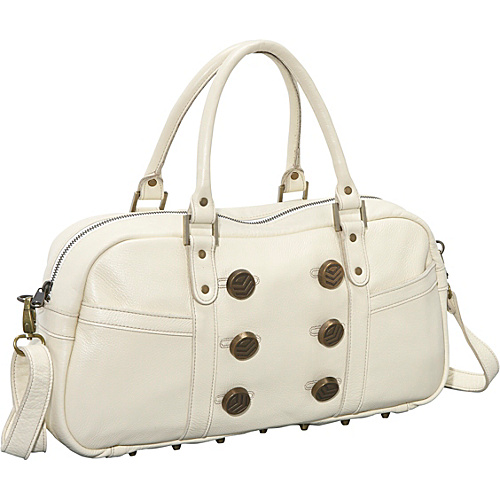 Brynn Capella Zee Satchel - Sail Away Off-White