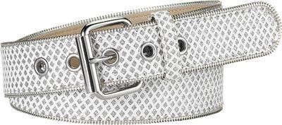 Relic Glitter Zipper Edge - White - M
