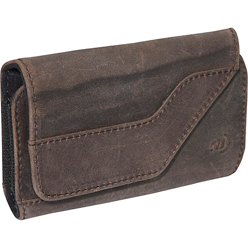 Nite Ize Clip Case Sideways Leather Medium - Espresso