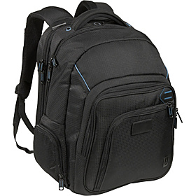 Executive Pro Checkpoint Friendly Computer Backpack Black