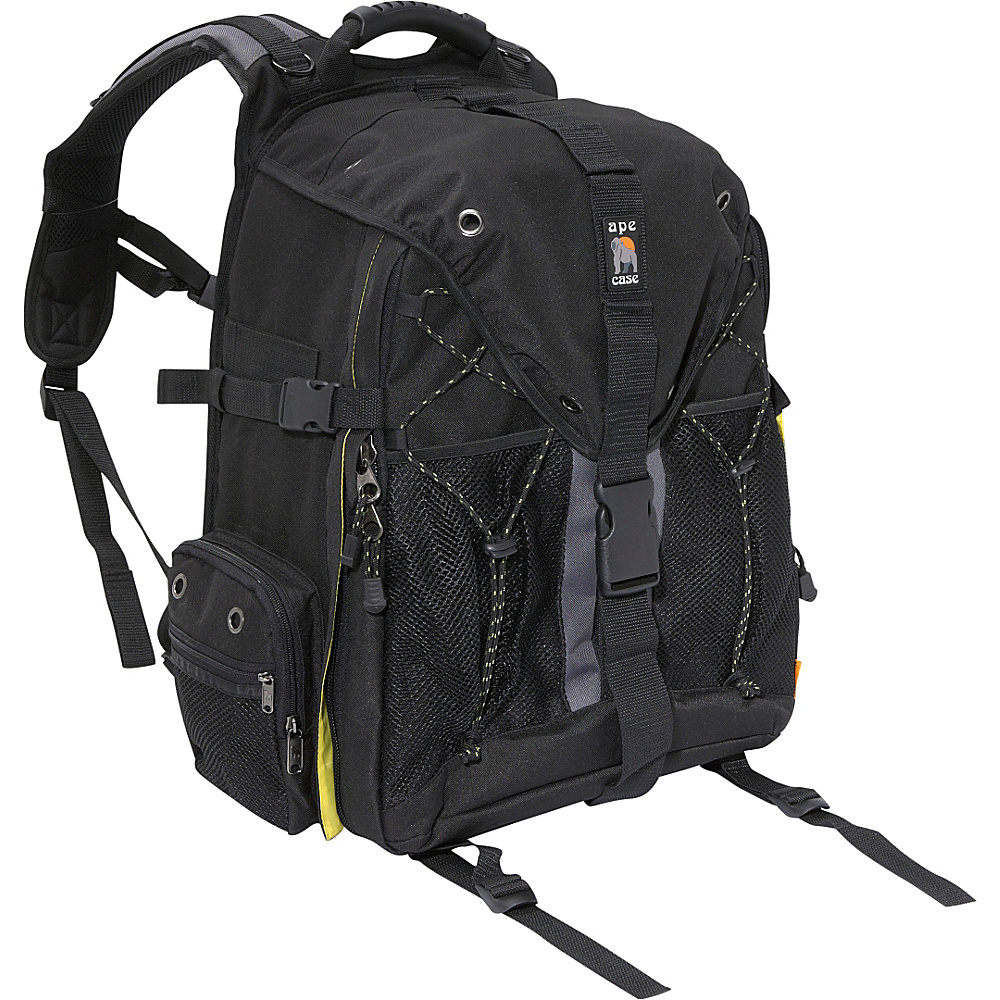 Ape Case DSLR and Laptop Backpack - Black - Technology, Camera Accessories