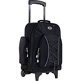 Bleacher Rolling Backpack Black