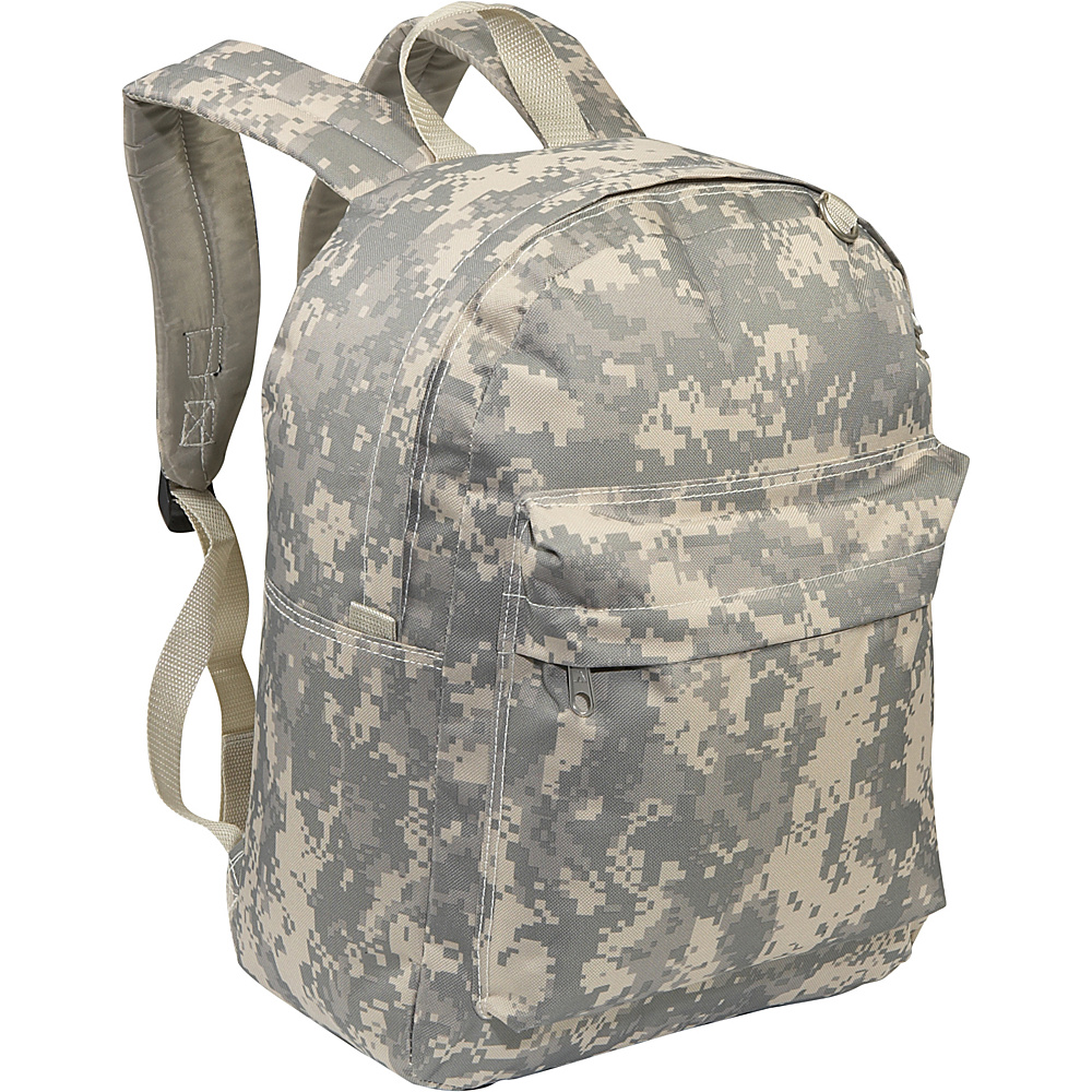 Everest Digital Camo Classic Backpack - Digital Camo - Backpacks, Everyday Backpacks