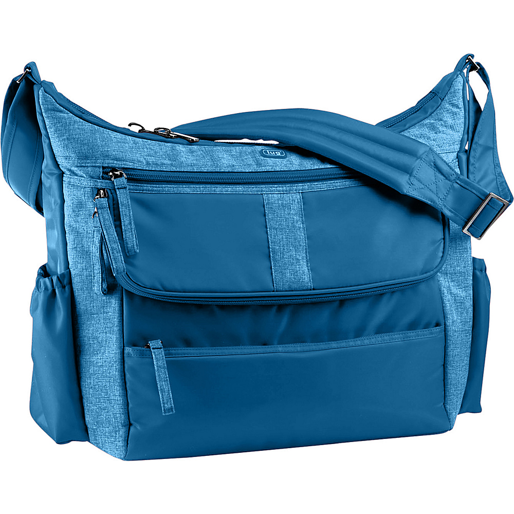 Upc 880479204037 Product Image For Lug Hula Hoop Carry All Messenger Diaper Bag Ocean Blue