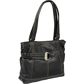 Soft Cinch Tote Black/Black