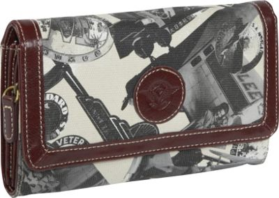 Sydney Love Going Places Wallet - Stone